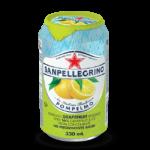 "S.Pellegrino ""Pompelmo"", сокосодержащий напиток, 0.33 л."