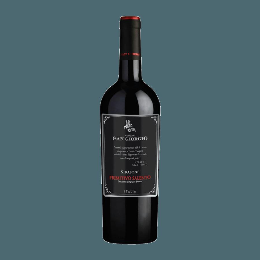 Вино San Giorgio Strabone Primitivo Salento IGP (красное, сухое) 0,75л