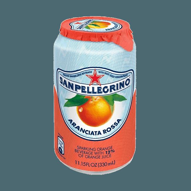 """S.Pellegrino """"Aranciata Rossa"""", сокосодержащий напиток, 0.33 л."""