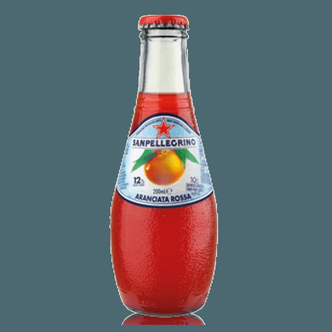 """S.Pellegrino """"Aranciata Rossa"""", сокосодержащий напиток, 0.2 л."""
