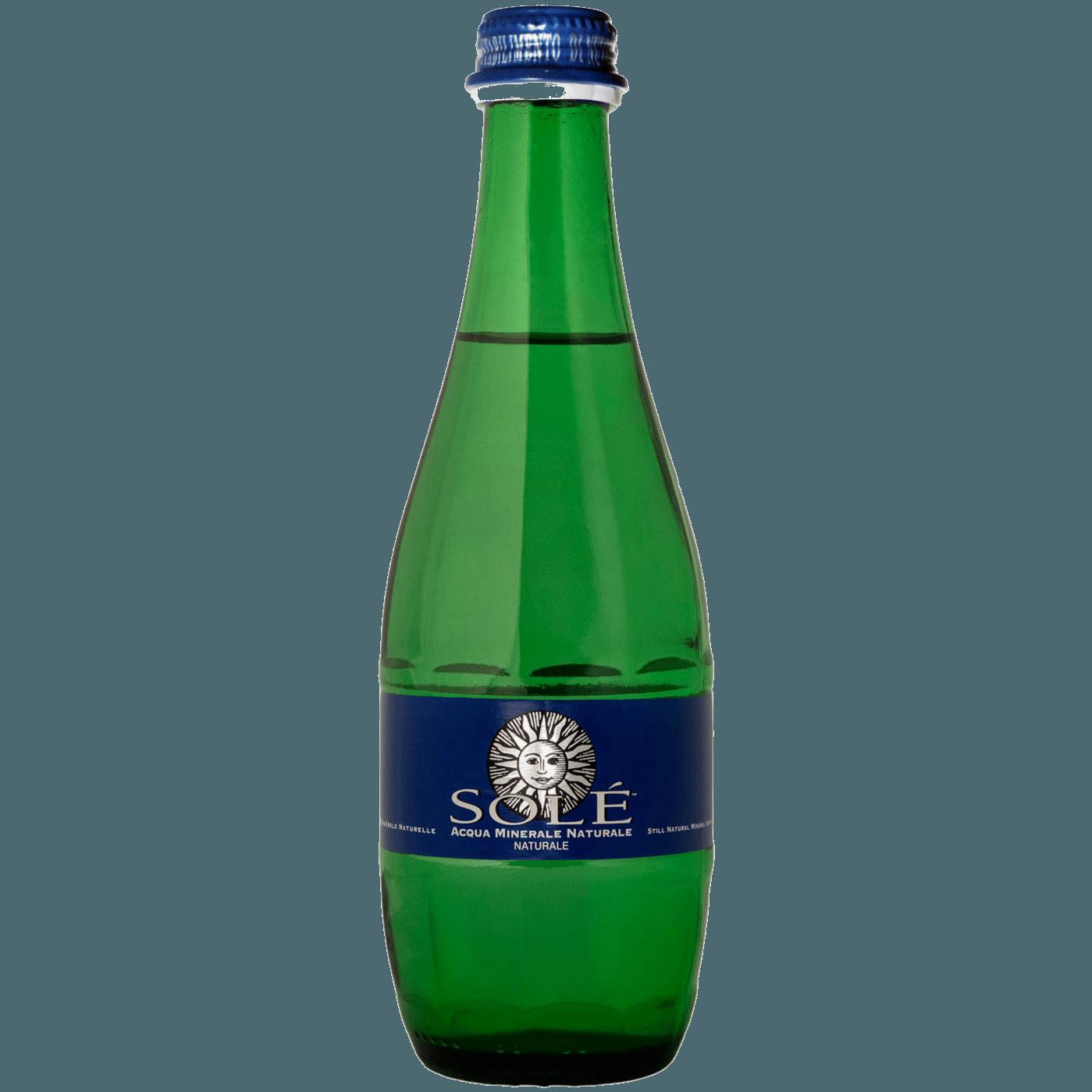 """Природная минеральная вода Sole """"Classic Still, Glass"""", (негазированная), 0.33 л."""