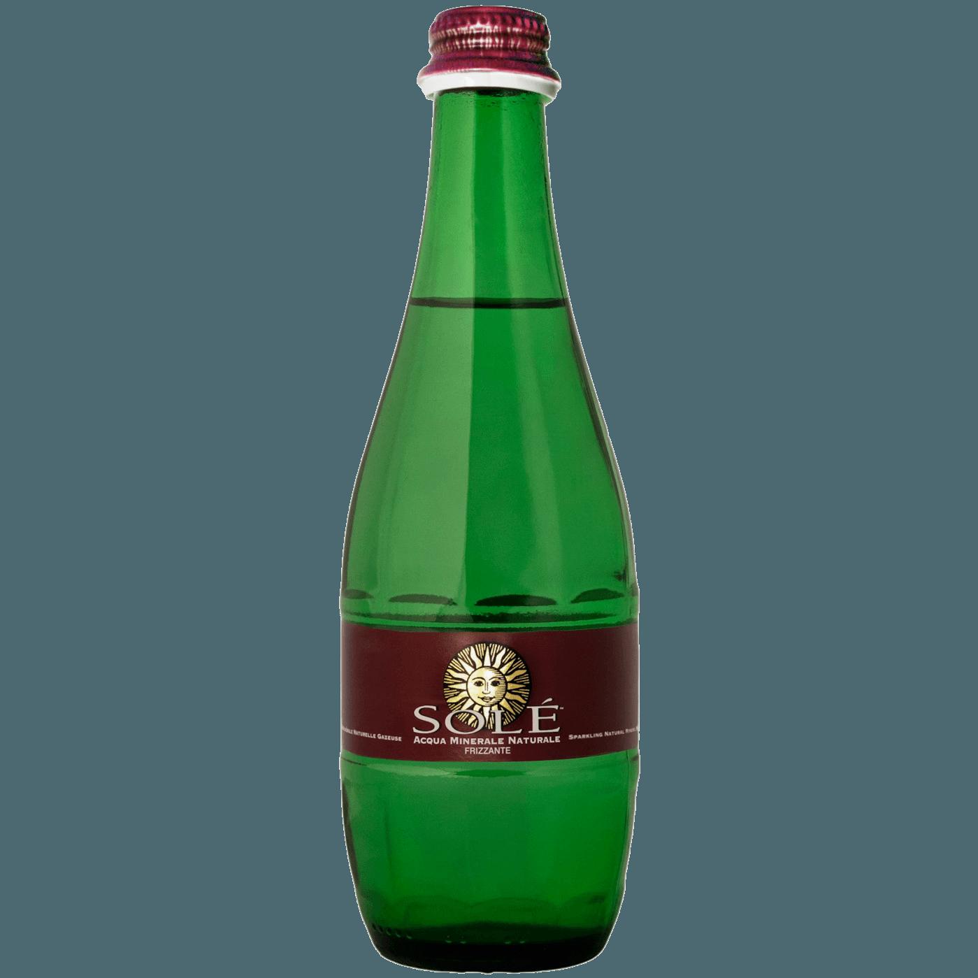 """Природная минеральная вода Sole """"Classic Still, Glass"""", (газированная), 0.33 л."""