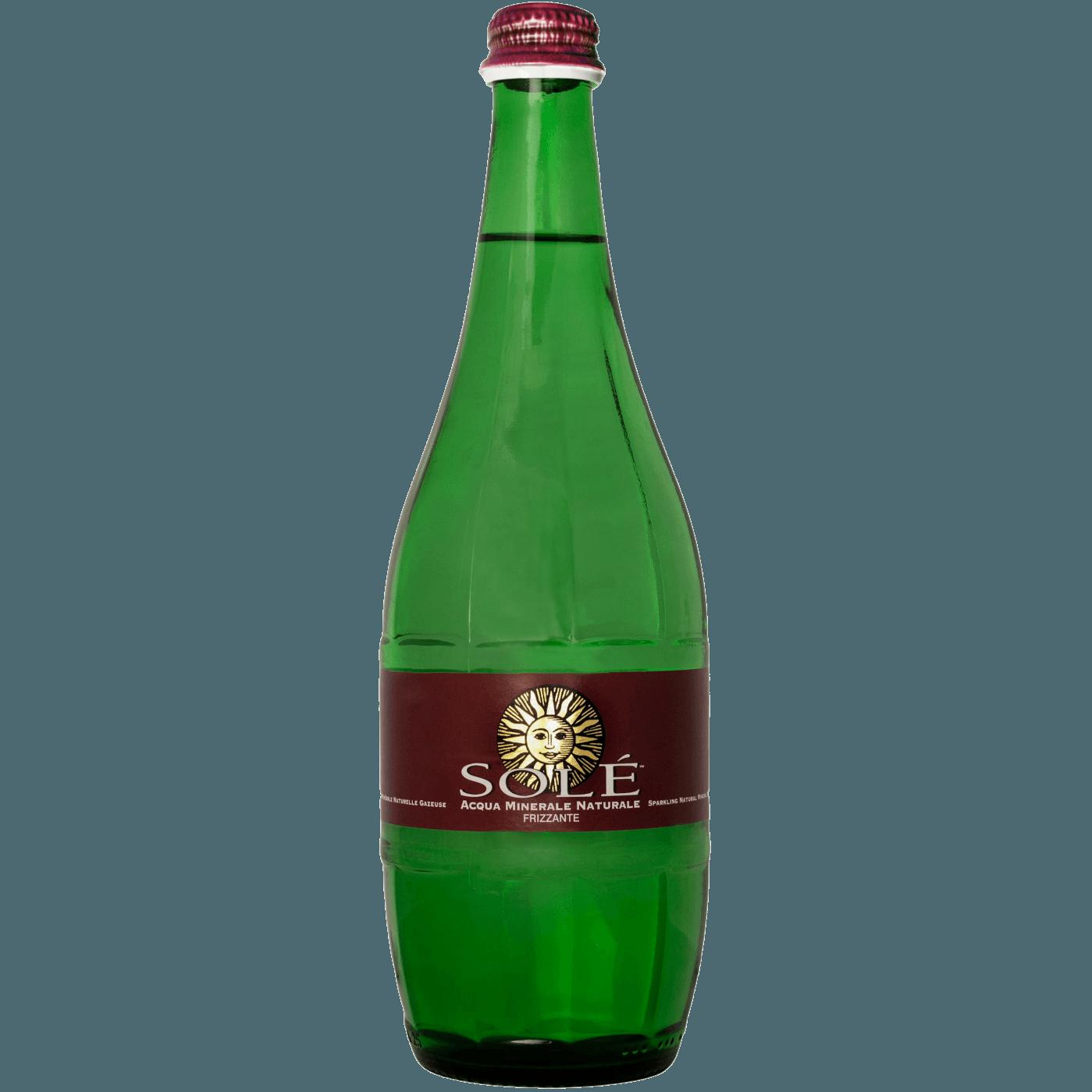 """Природная минеральная вода Sole """"Classic Still, Glass"""", (газированная), 0.75 л."""