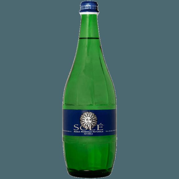 """Природная минеральная вода Sole """"Classic Still, Glass"""", (негазированная), 0.75 л."""