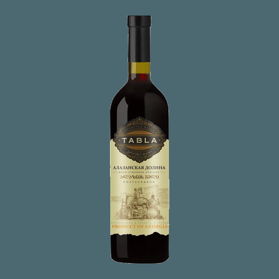 Вино Tabla Алазанская Долина (красное, полусладкое) 0,75 л