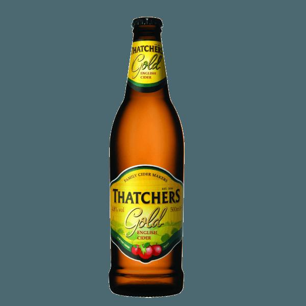"Сидр Thatchers ""Тачерс Голд"", (яблочный)  0,5"