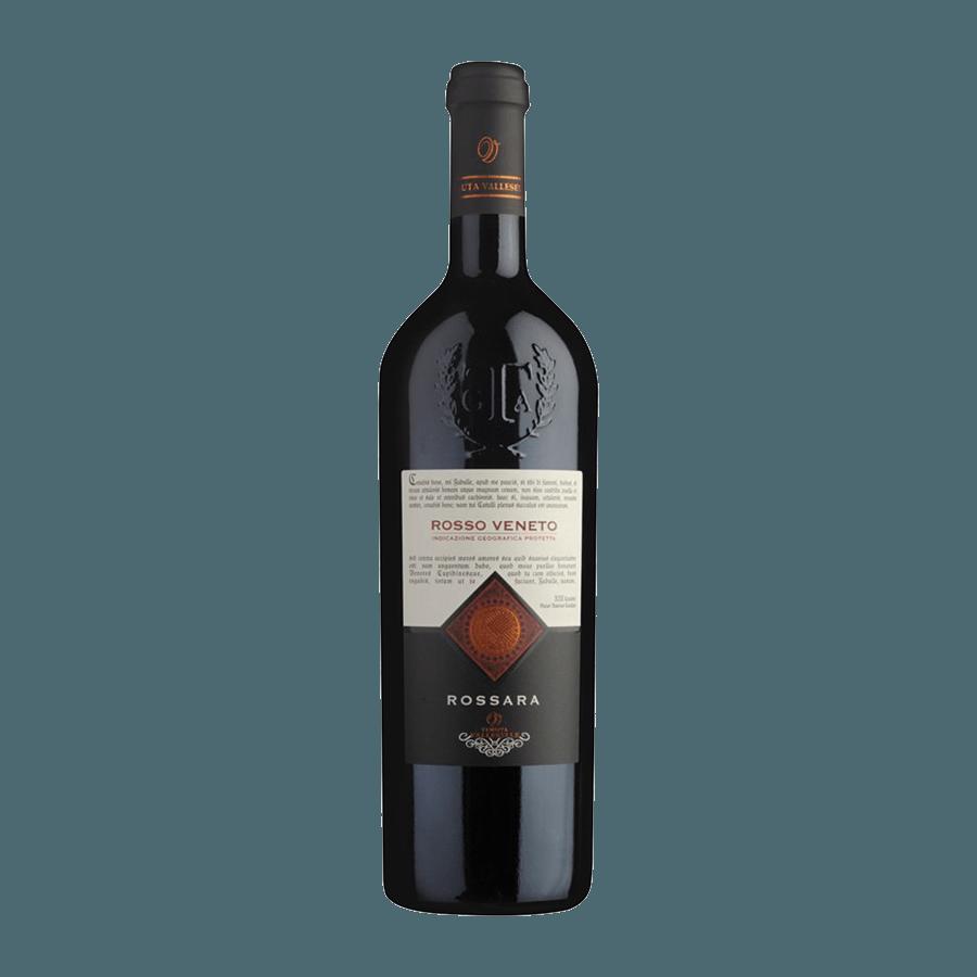 Вино Valleselle Rosso Veneto Rossara IGP (красное, сухое) 0,75л