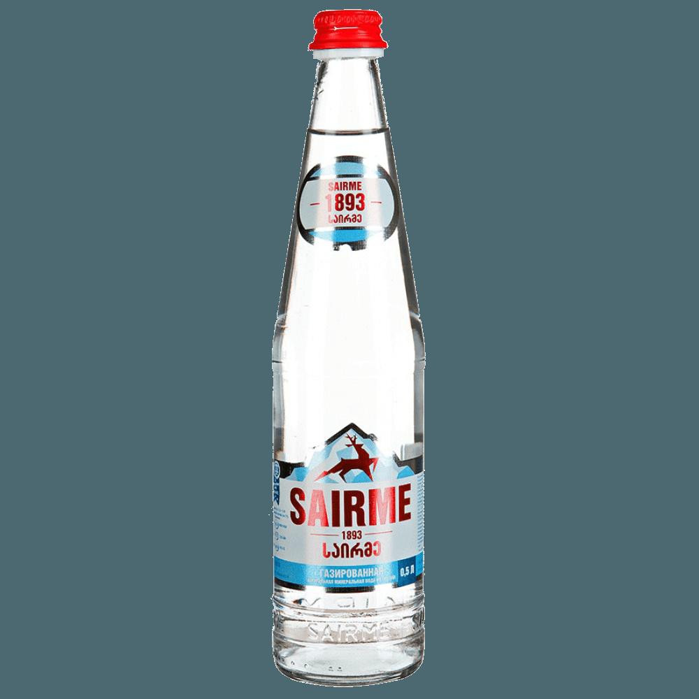 Саирме, вода газированная, 0.5 л.