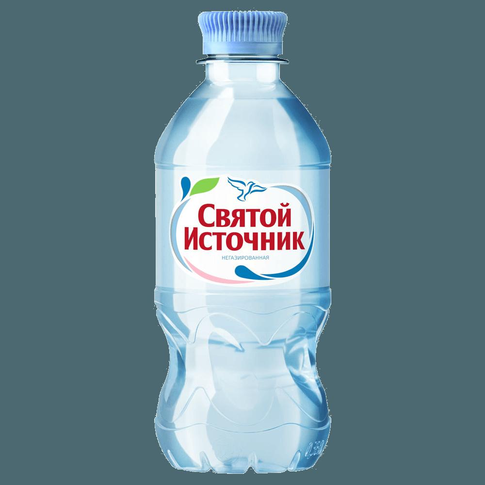 Святой Источник, минеральная вода без газа,  0.33 л.