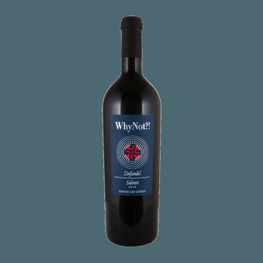Вино Why Not?! IGP (красное, полусухое) 0,75 л