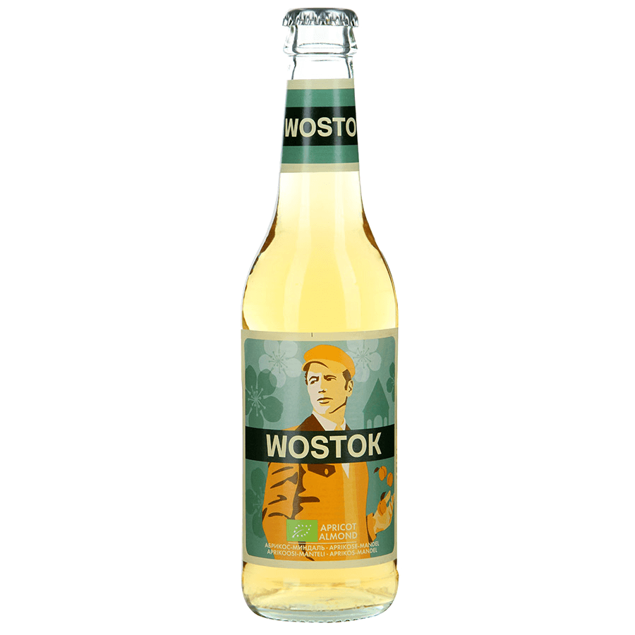"Натуральный напиток ""WOSTOK"" BIO Абрикос-Миндаль, 0.33 л."