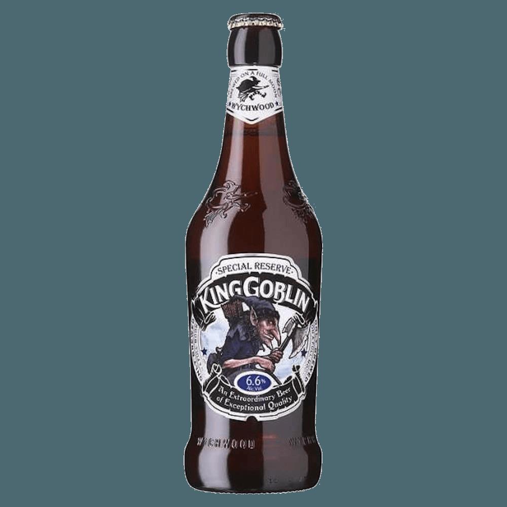 """Пиво """"Вичвуд"""" Кинг Гоблин, полутемный эль, 0.5 л. (6.6%)"""
