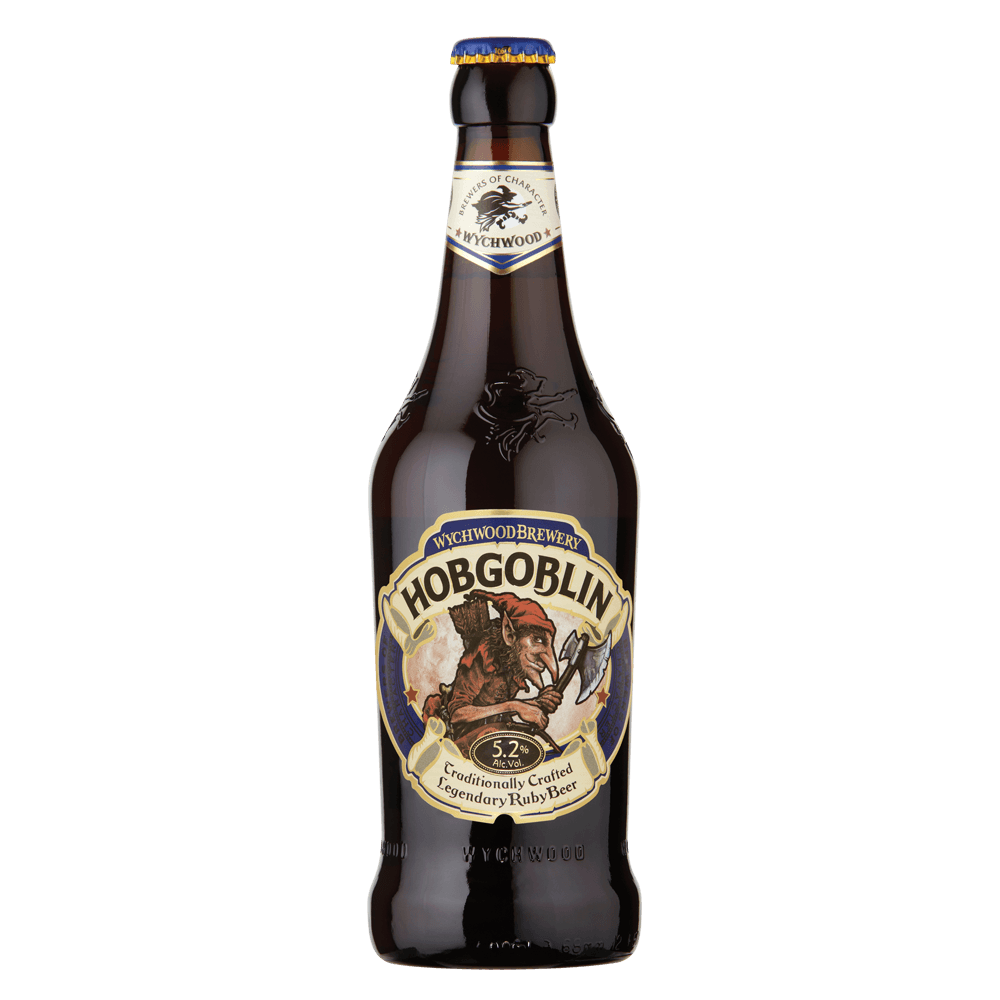 "Пиво ""Вичвуд"" Хобгоблин, темное, 0.5 л. (5.2%)"