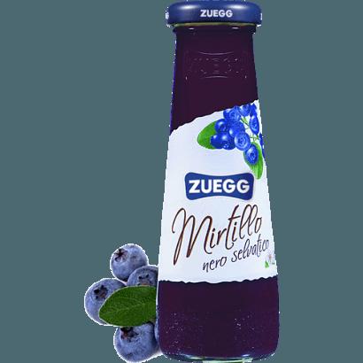 """Сок черничный """"ZUEGG"""", 0.2 л."""