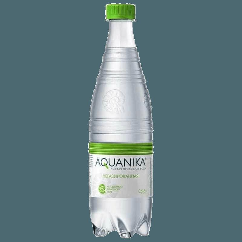 Акваника, питьевая негазированная вода, 0.618 л.