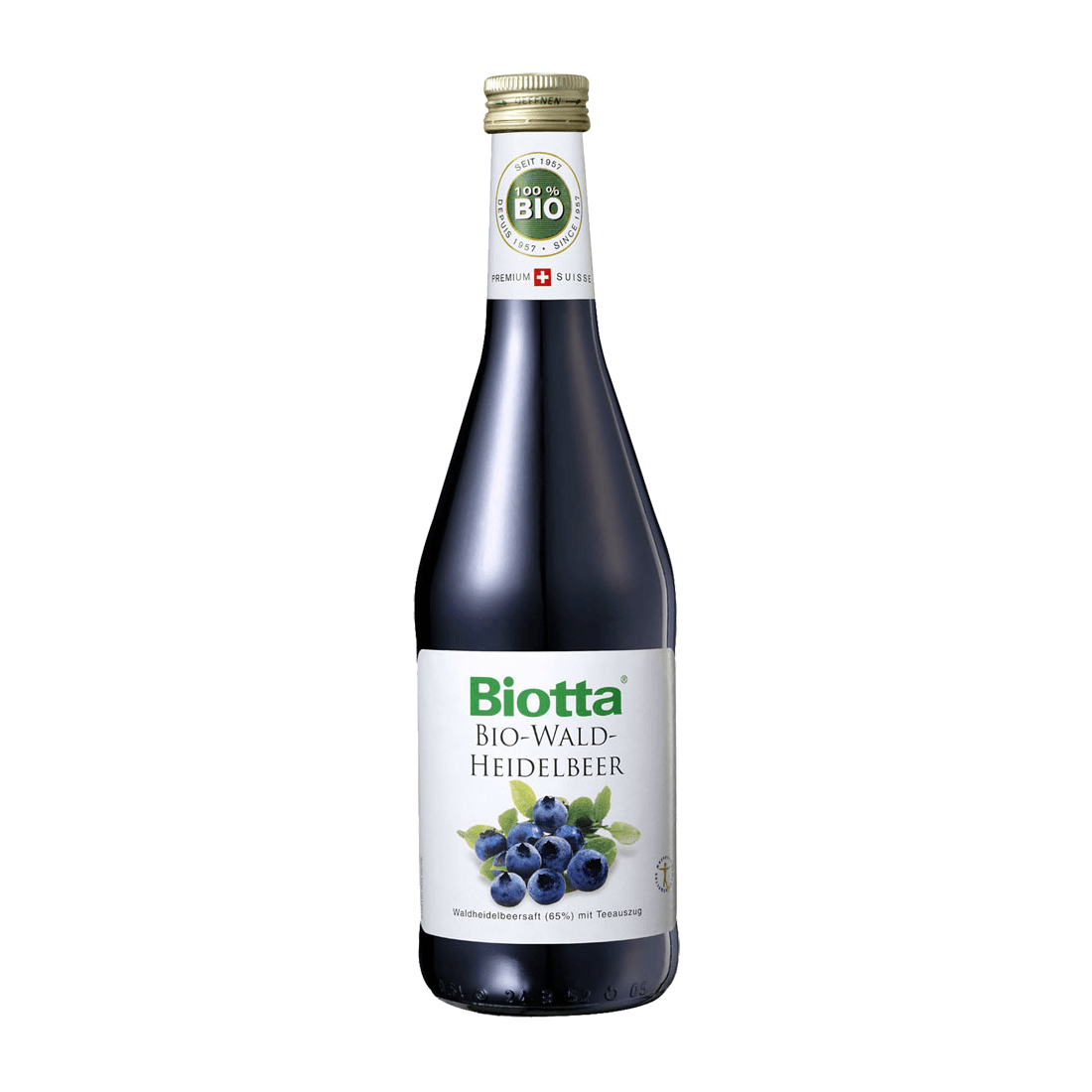 """BIOTTA, нектар из лесной черники """"БИО"""", 0.5 л."""