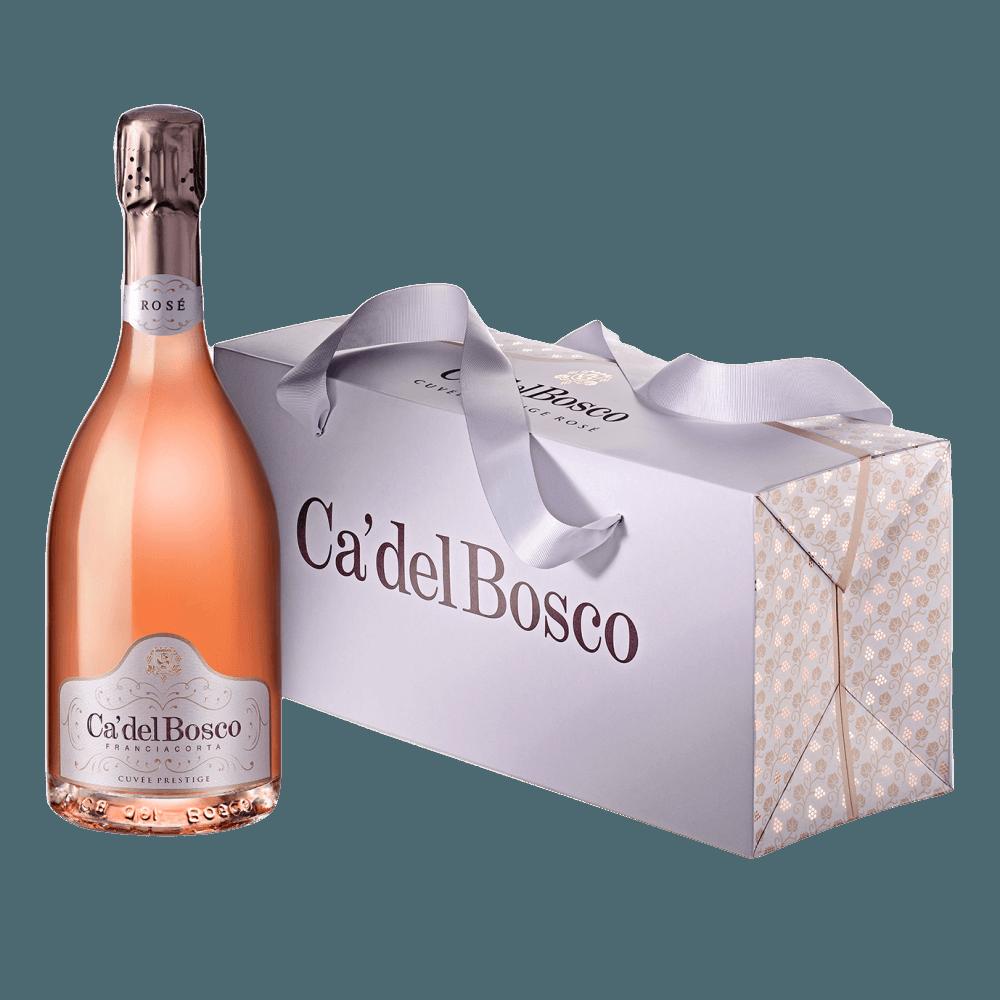Игристое вино Franciacorta Cuvee Prestige Brut Rose, 0.75 л. (s)