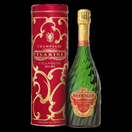 Шампанское Tsarine Cuvee Premium Brut, 0.75 л. (s)