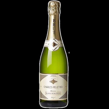 Игристое вино Charles Pelletier Reserve Blanc de Blancs Brut, 0.75 л. (s)