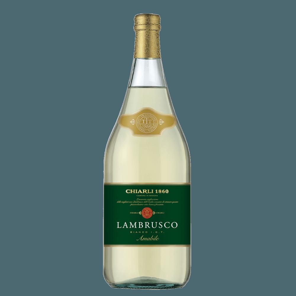 Шипучее вино Lambrusco dell'Emilia Bianco Poderi Alti, 0.75 л. (s)