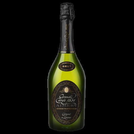Игристое вино Grande Cuvee 1531 de Aimery Reserve (Cremant de Limoux), 0.75 л., 2014 г. (s)