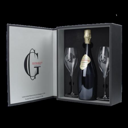 Шампанское Gosset Celebris Vintage Extra Brut, 0.75 л., 2002 г. (s)