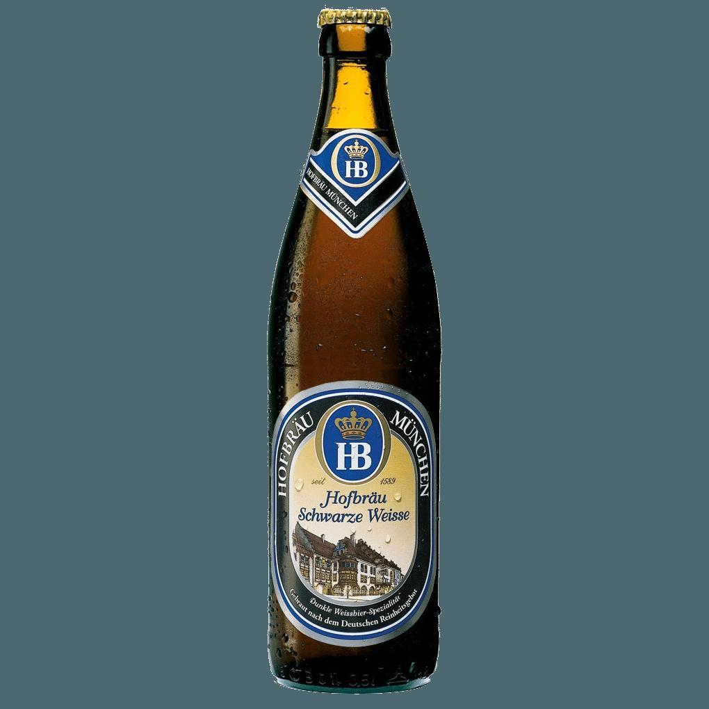 Пиво «Hofbrau» Schwarze Weisse, 0.5 л