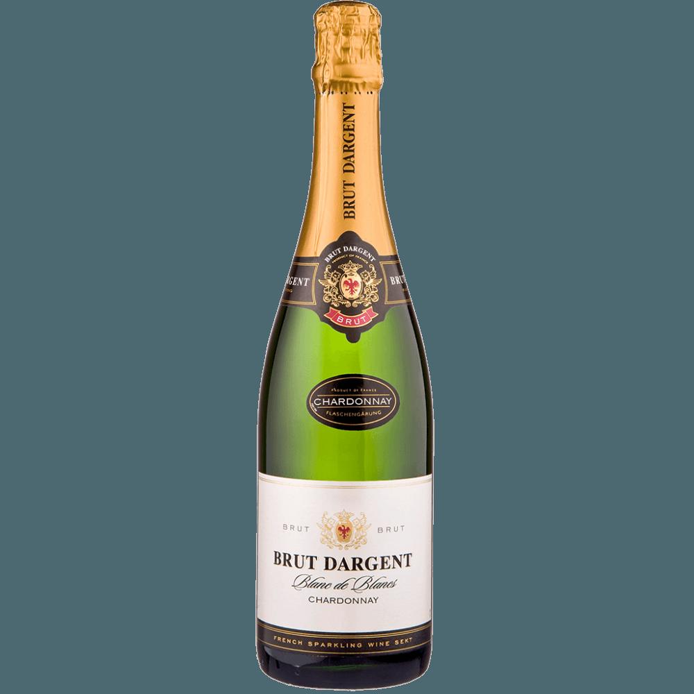 Игристое вино Brut Dargent Blanc de Blancs Chardonnay, 0.75 л., 2015 г. (s)
