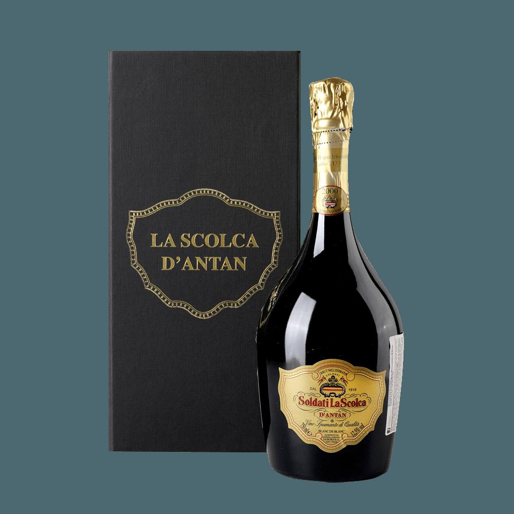 Игристое вино Brut Millesimato Riserva d'Antan, 0.75 л., 2003 г. (s)