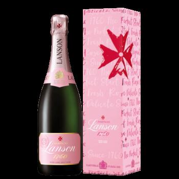 Шампанское Lanson Rose Label Brut Rose, 0.75 л. (s)