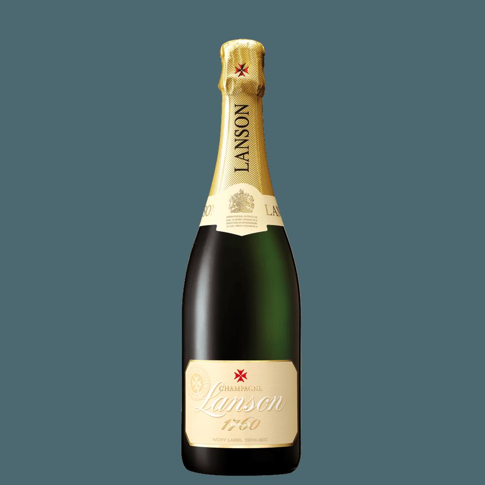 Шампанское Lanson Ivory Label Demi-Sec, 0.75 л. (s)