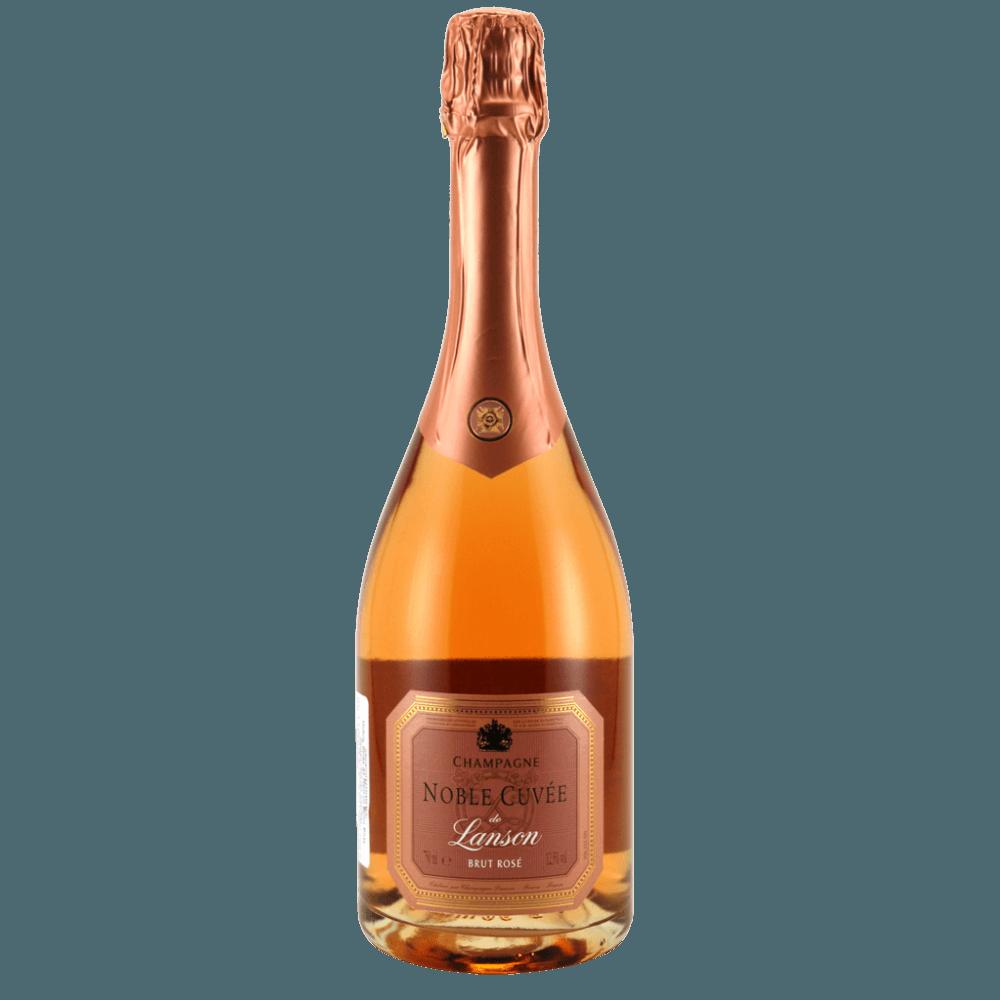 Шампанское Noble Cuvee de Lanson Brut Rose, 0.75 л. (s)