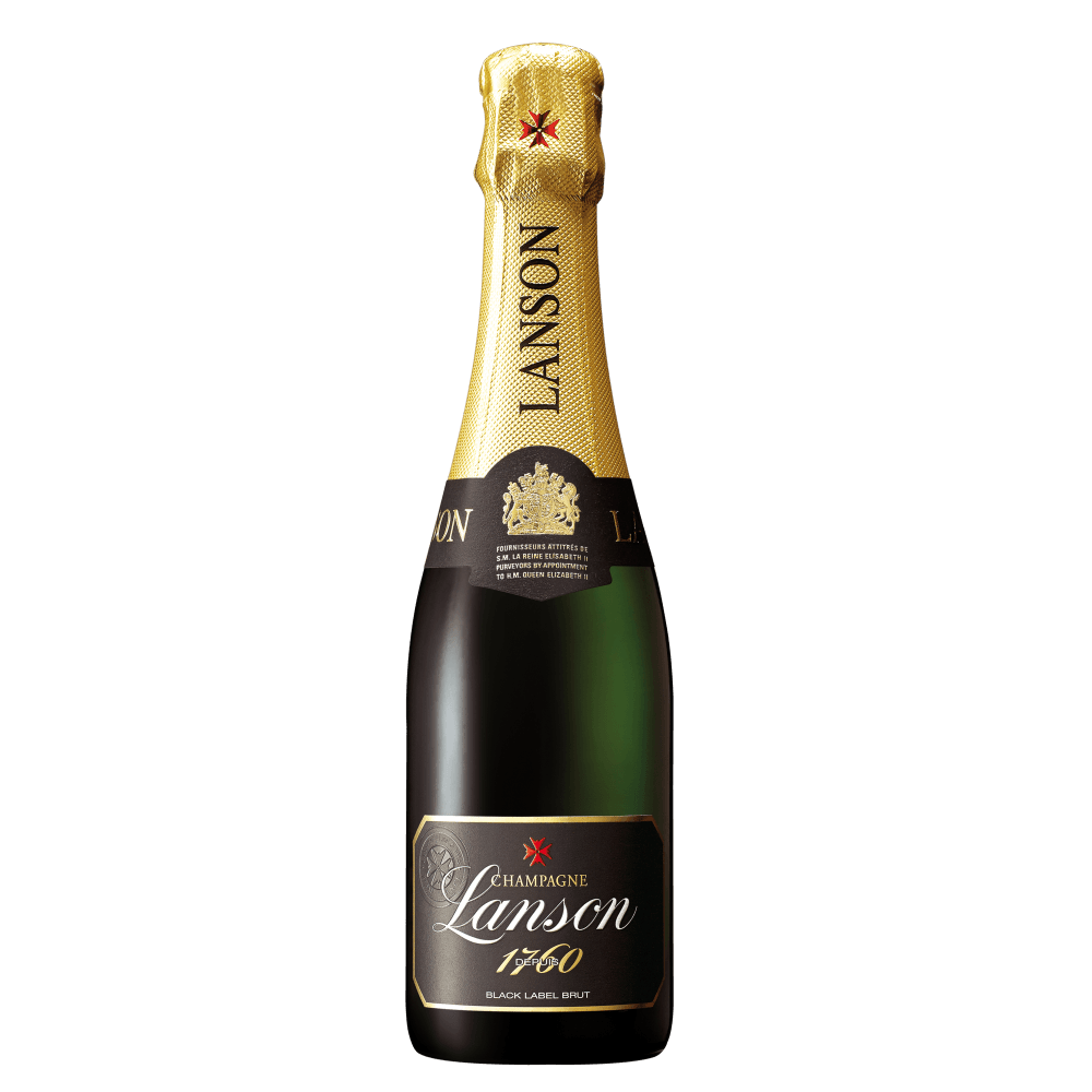 Шампанское Lanson Black Label Brut, 0.375 л. (s)