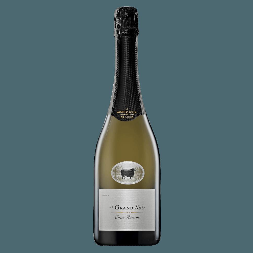 Игристое вино Le Grand Noir Brut Reserve, 0.75 л. (s)