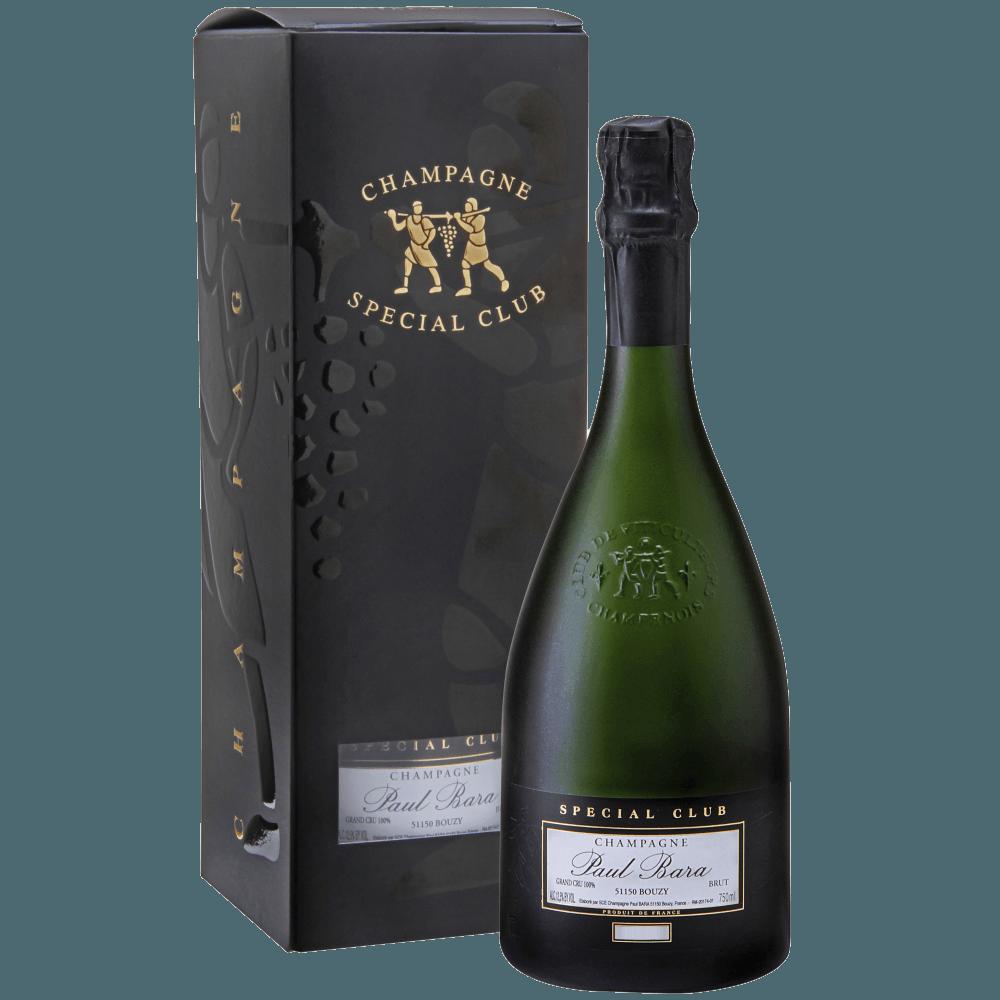 Шампанское Special Club Brut Grand Cru Bouzy, 0.75 л., 2008 г. (s)