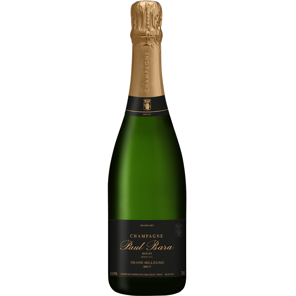 Шампанское Grand Millesime Brut Grand Cru Bouzy, 0.75 л., 2010 г. (s)