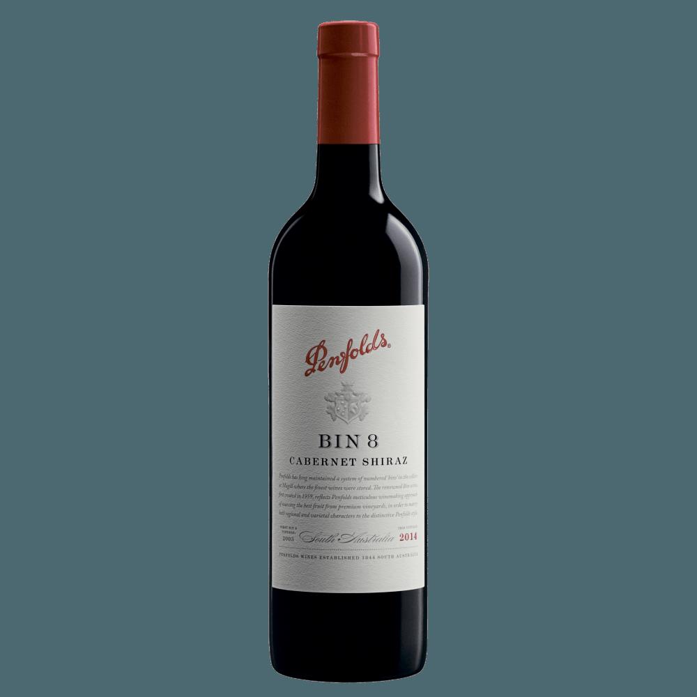 Вино Penfolds Bin 8 Cabernet Shiraz, 0.75 л., 2016 г. (s)