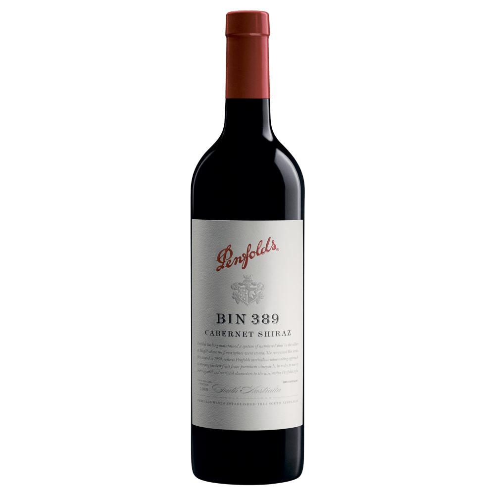 Вино Penfolds Bin 389 Cabernet Shiraz, 0.75 л., 2015 г. (s)