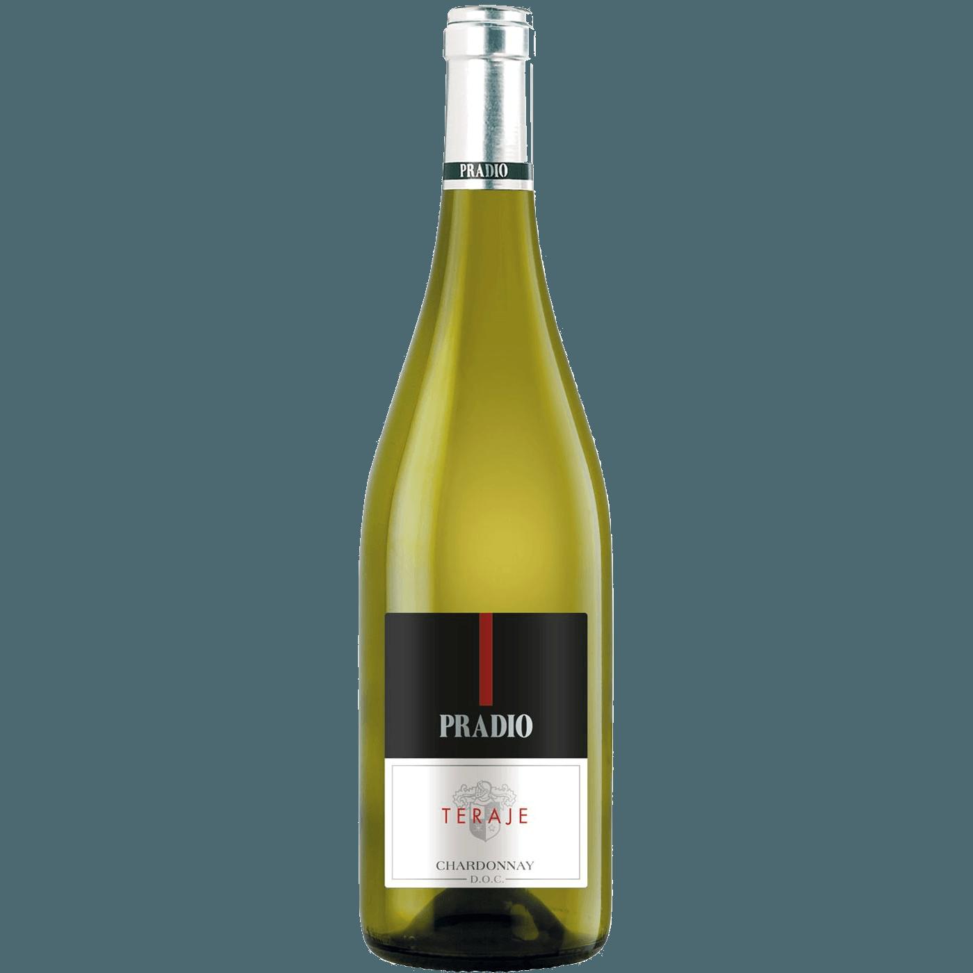 Вино Teraje Chardonnay, 0.75 л., 2016 г. (s)