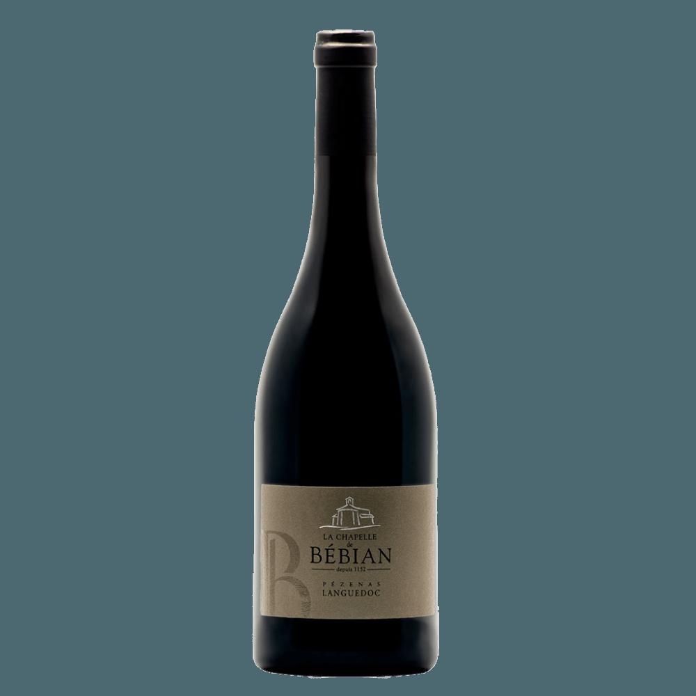 Вино La Chapelle de Bebian Rouge, 0.75 л., 2014 г. (s)