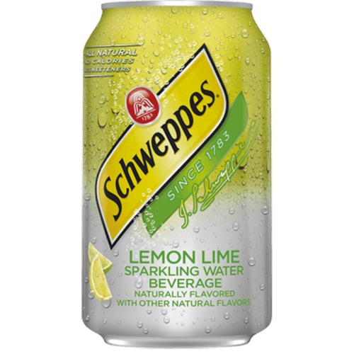 Schweppes lemon & lime 335 мл