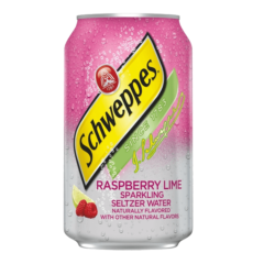 Schweppes Raspberry & Lime 335 мл