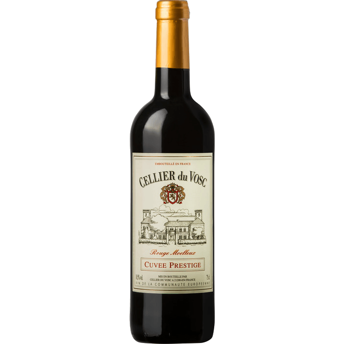 Вино Cellier du Vosc Cuvee Prestige Red Semi sweet, 0.75 л. (ew)