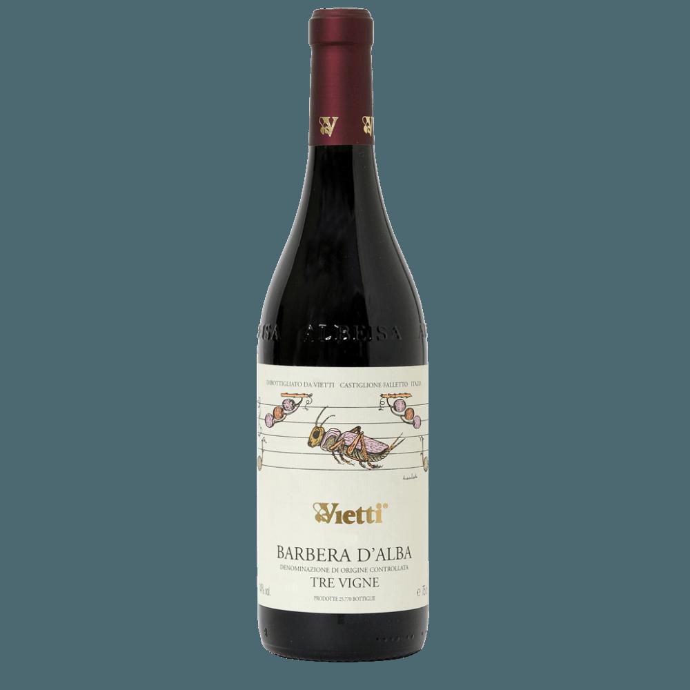 Вино Barbera d'Alba Tre Vigne, 0.75 л., 2016 г. (s)