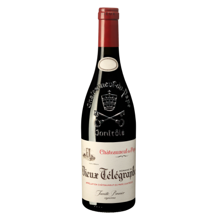 "Вино Chateauneuf-du-Pape Vieux Telegraphe ""La Crau"", 0.75 л., 2005 г. (s)"