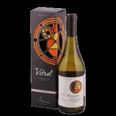 Вино Vitral Chardonnay Reserva, 0.75 л., 2016 г., П/У (s)
