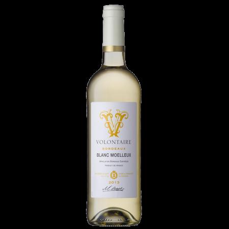 Вино Volontaire Blanc Moelleux, 0.75 л., 2013 г. (s)