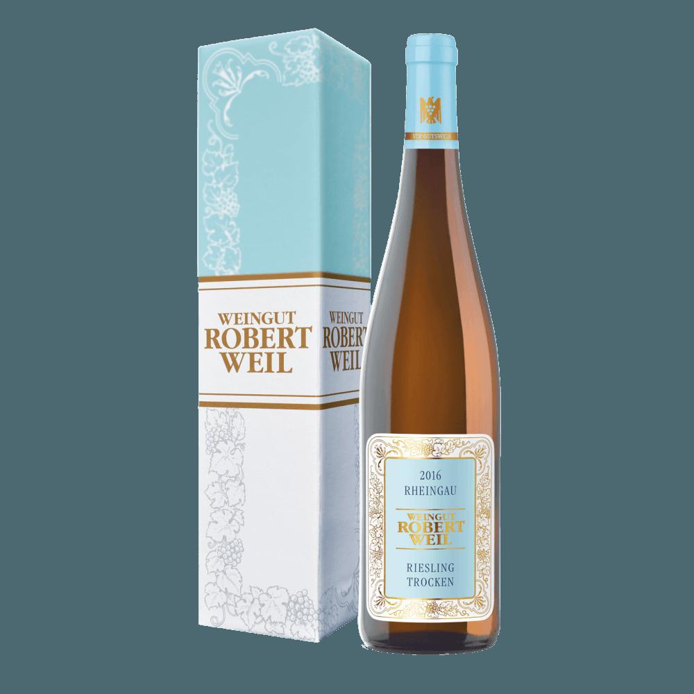 Вино Rheingau Riesling Trocken, 0.75 л., 2016 г. (s)