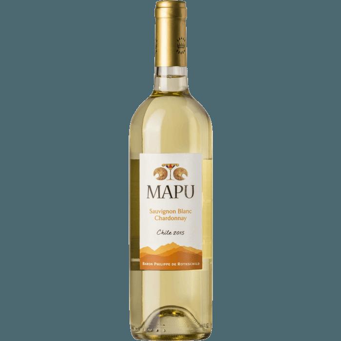 Вино Mapu Seleccion Sauvignon Blanc Chardonnay, 0.75 л. (ew)