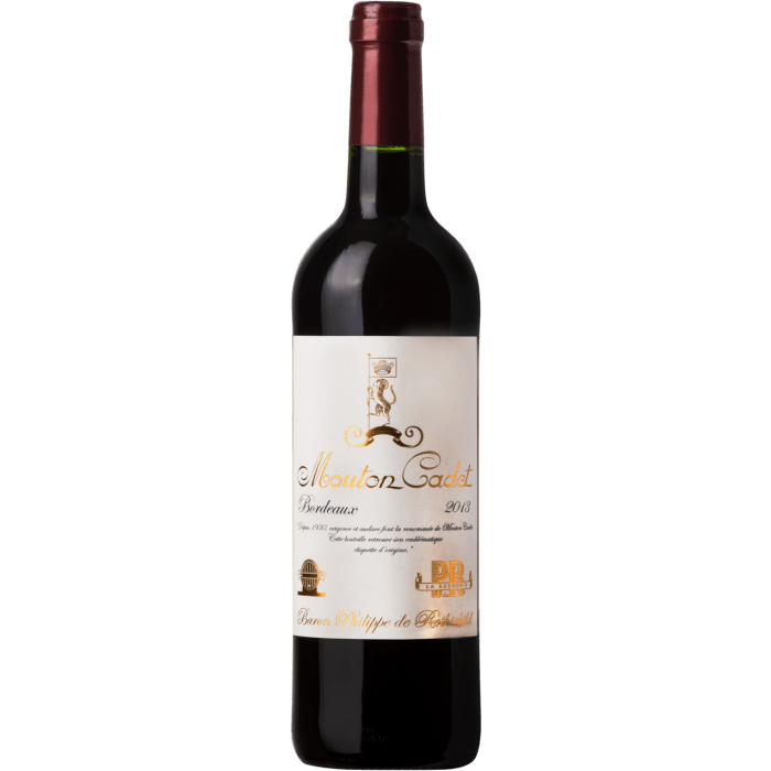 Вино Mouton Cadet Vintage, 0.75 л. (ew)